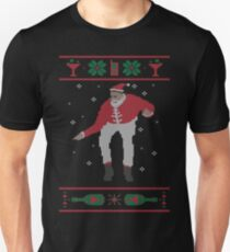 Christmas Bling - Santa T-Shirt