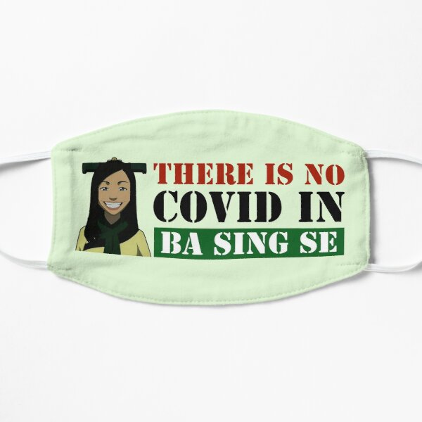 There is no covid in Ba Sing Se Avatar the Last Airbender Flat Mask