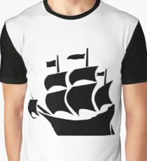 Galleon Graphic T-Shirt