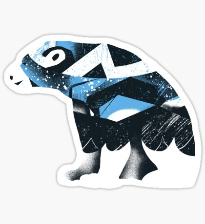 Winter Bear Sticker