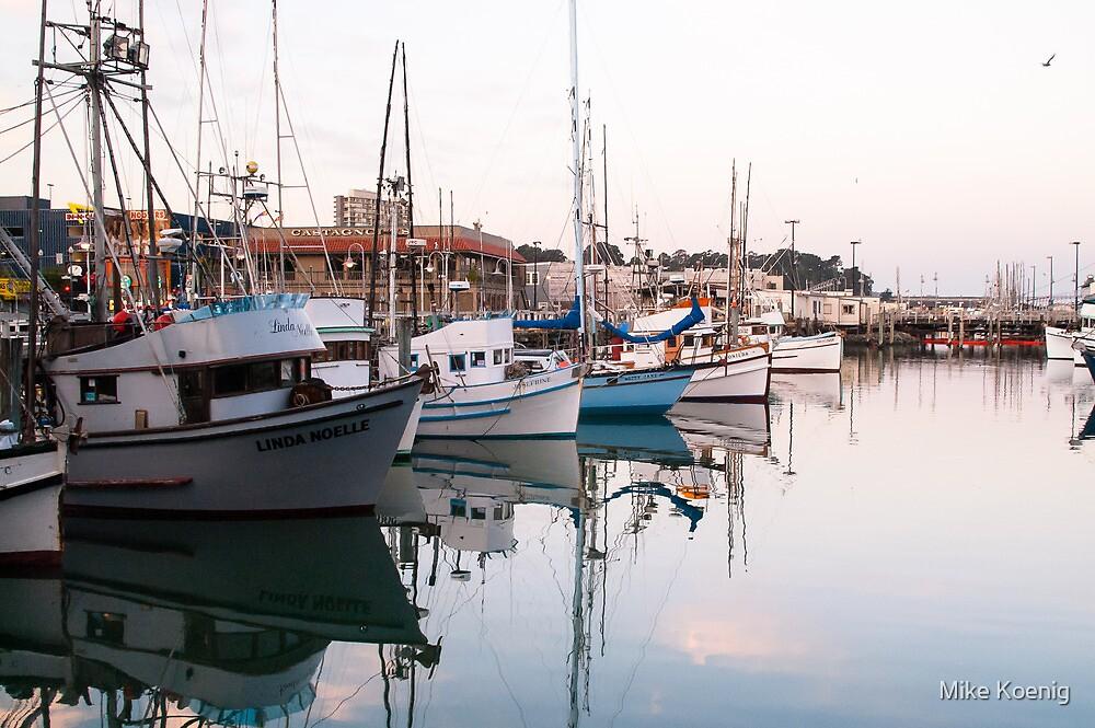 Fishermans Wharf Harbor, San Francisco by Mike Koenig