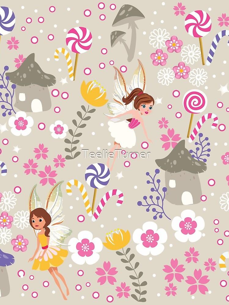 Beige Helper Fairies In Tommy Tinker's Village™ by TeelieTurner