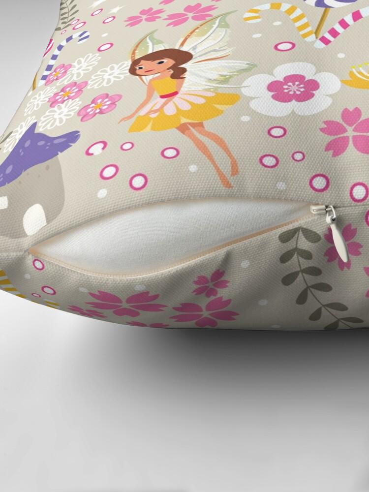 Alternate view of Beige Helper Fairies In Tommy Tinker's Village™ Floor Pillow