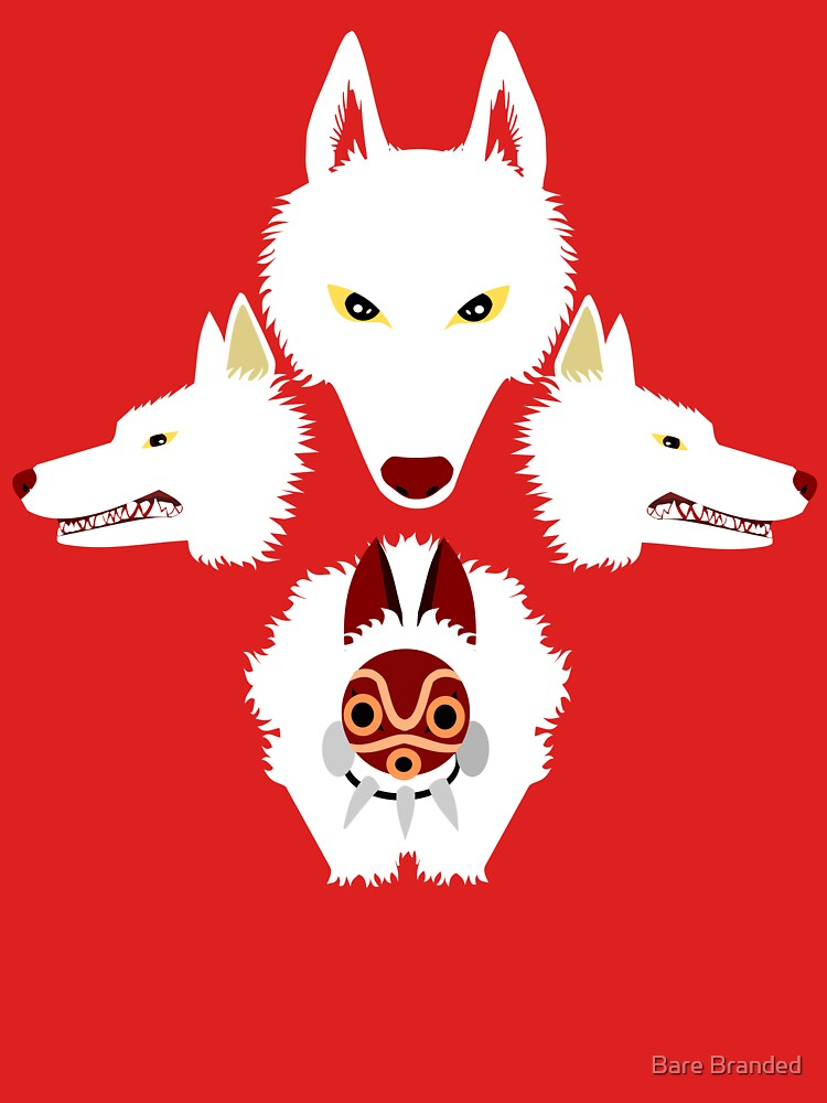 Mononoke - The wolves | Unisex T-Shirt