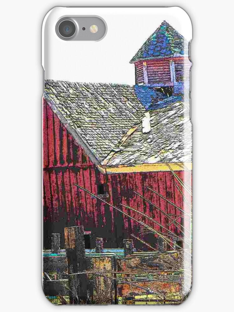 The Old Koontz Barn - iPhone Case by Betty  Town Duncan