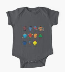 Mr Men Who One Piece - Short Sleeve