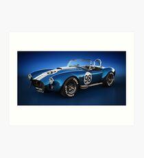 Shelby Cobra 427 - Bolt Art Print