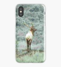 Lone Elk - iPhone Case iPhone Case