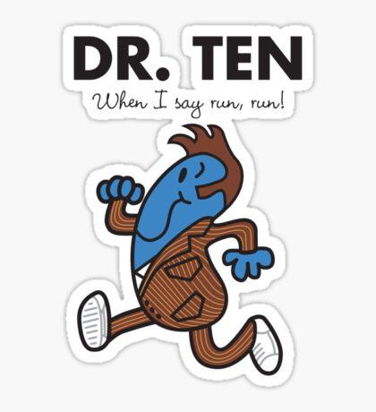 Dr. Ten Sticker