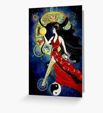 Lady of Fortune Greeting Card