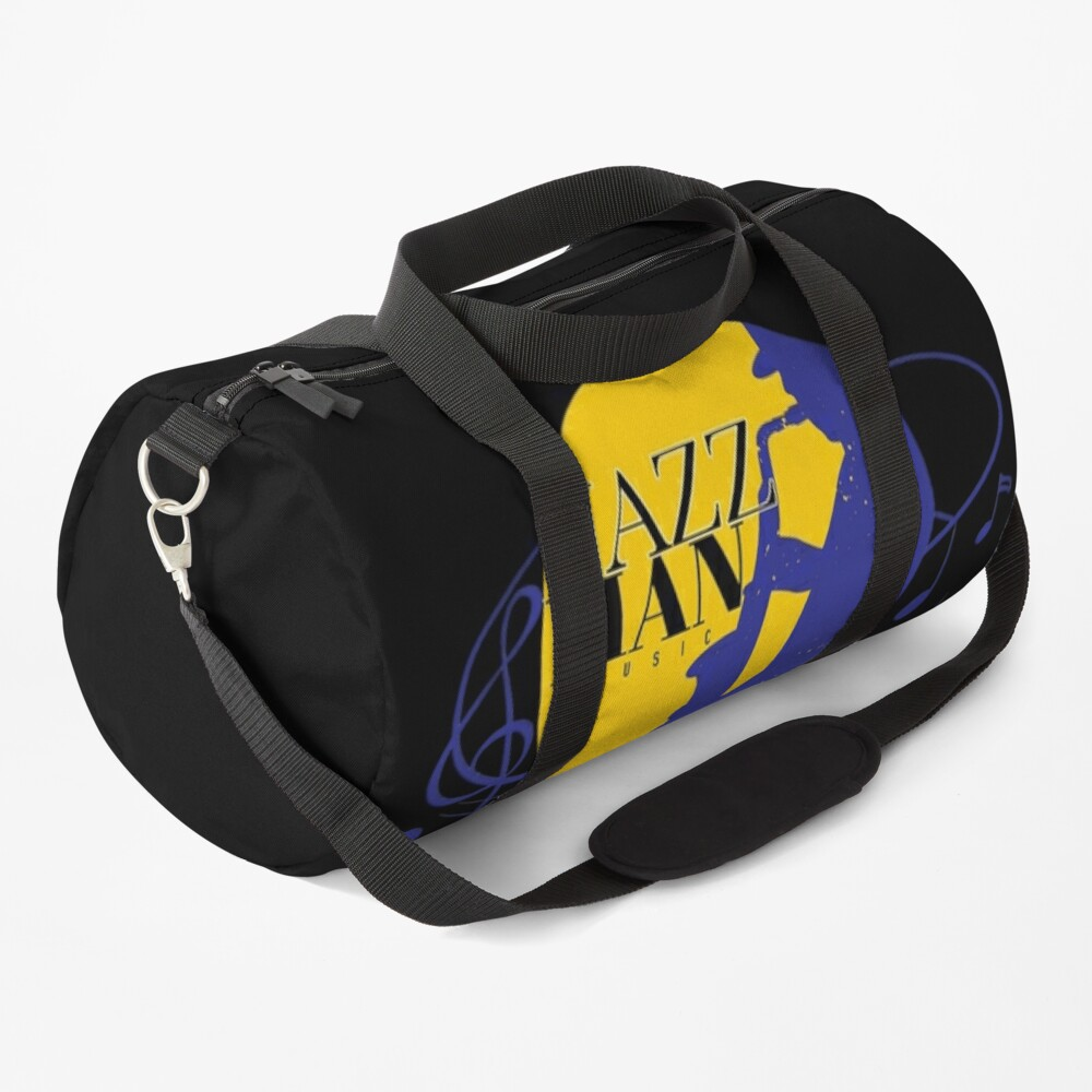 Jazzology with Keith G: Black Series Logo Duffle Bag
