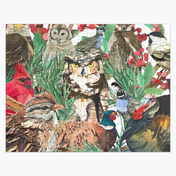 WINTER'S BIRDS Jigsaw Puzzle