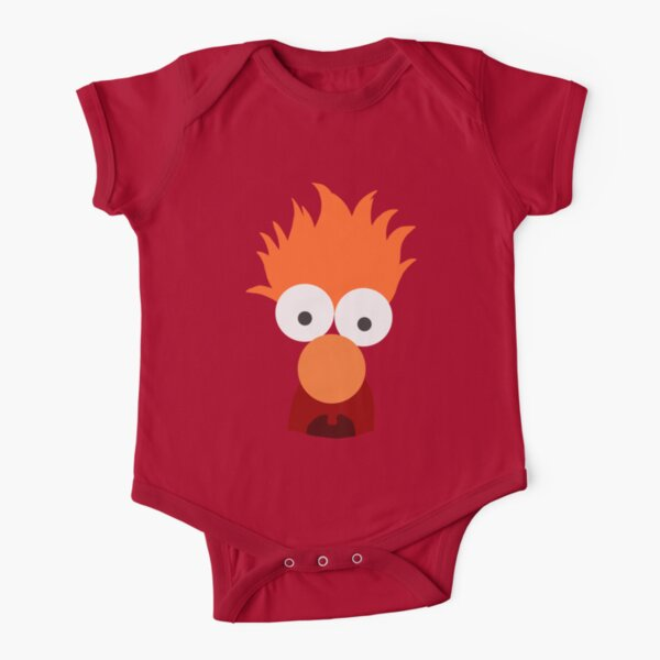 Beaker Short Sleeve Baby One-Piece