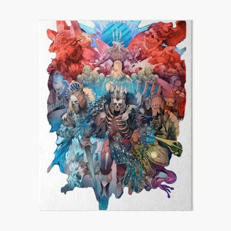 wild hunt Art Board Print