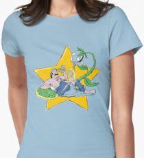 Hero Worship (alternate) Womens Fitted T-Shirt