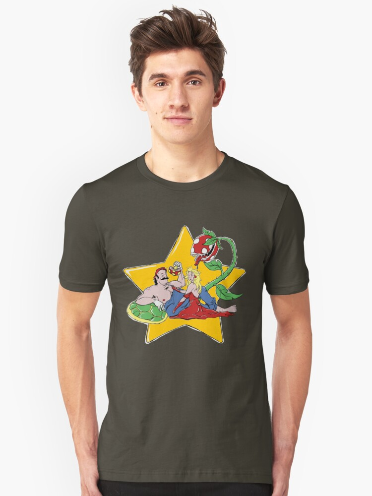 Hero Worship 4 colour Unisex T-Shirt Front