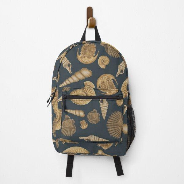 Stylish Fossil Pattern   Backpack