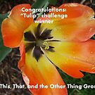 Banner for Challenge Winner - Tulips by quiltmaker