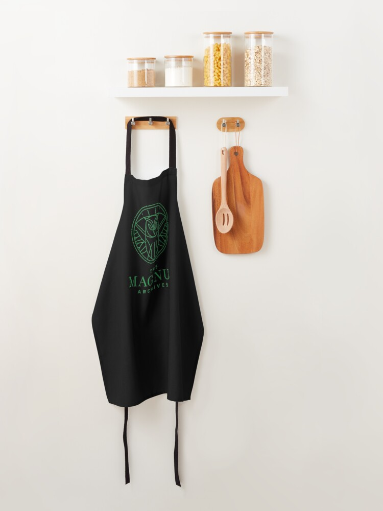 Alternate view of All Seeing Owl Apron