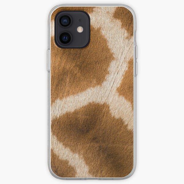 Giraffe hide Giraffe Fur African animal fur Animal print iPhone Soft Case