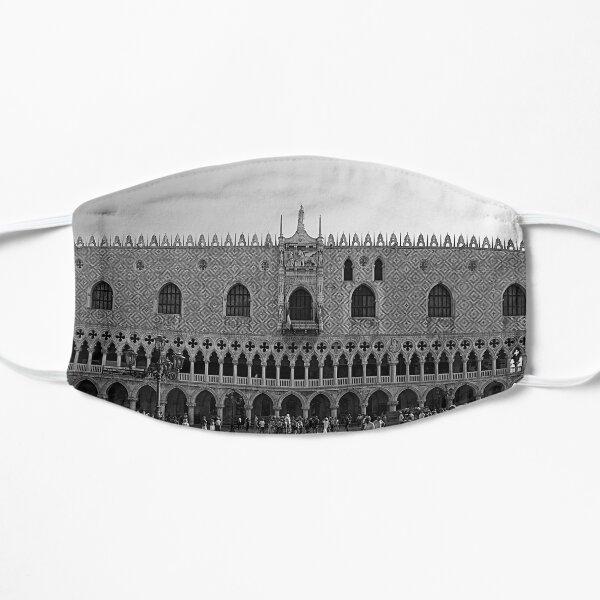 Doge's Palace B&W Flat Mask