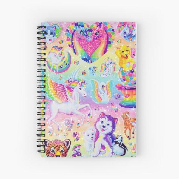 RAINBOW Y2K 2000S nostalgia print Spiral Notebook