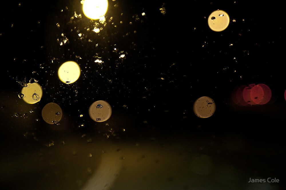 Highway Bokeh by James Cole