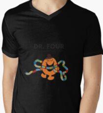 Dr. Four Mens V-Neck T-Shirt