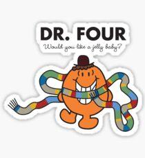 Dr. Four Sticker