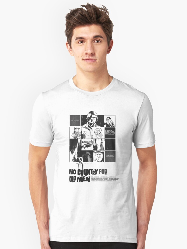 No Country for Old Men Unisex T-Shirt Front