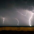 Lighting up the Outer Banks by Michael Treloar