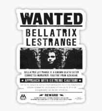 Bellatrix Lestrange Poster Sticker
