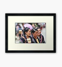 Sapa Hill Tribes Framed Print