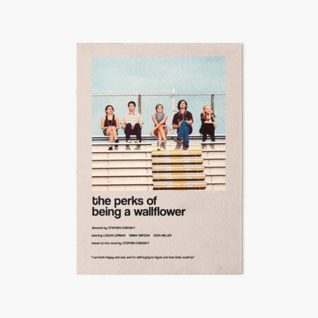 the perks of being a wallflower - Alternate Minimal Cover Art Board Print