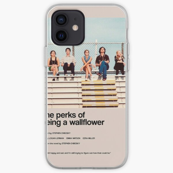the perks of being a wallflower - Alternate Minimal Cover iPhone Soft Case
