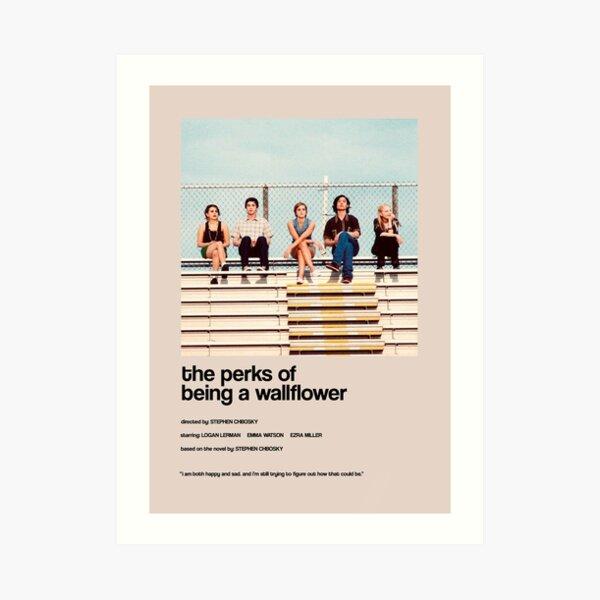 the perks of being a wallflower - Alternate Minimal Cover Art Print