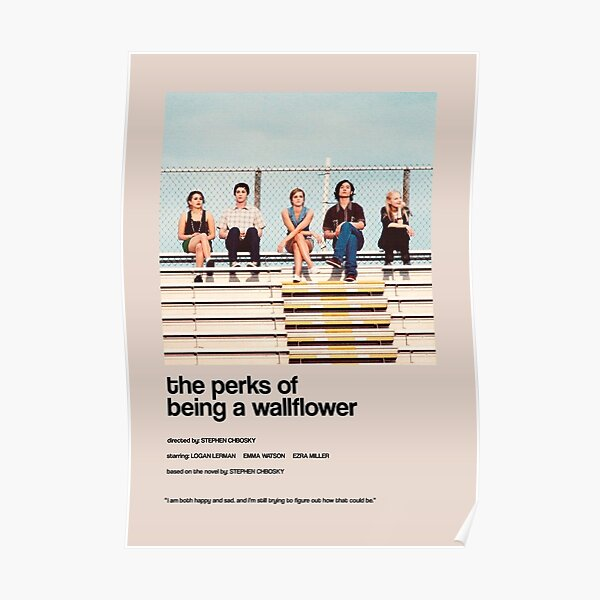 the perks of being a wallflower - Alternate Minimal Cover Poster