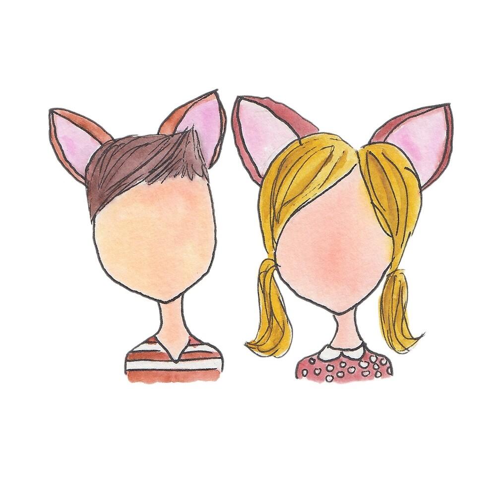Bambi and Faline by Samantha Baxter