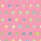 Cute Lollipop Pattern by thejoyker1986