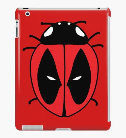 Bug with a mouth iPad Case/Skin
