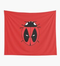 Bug with a mouth Wall Tapestry
