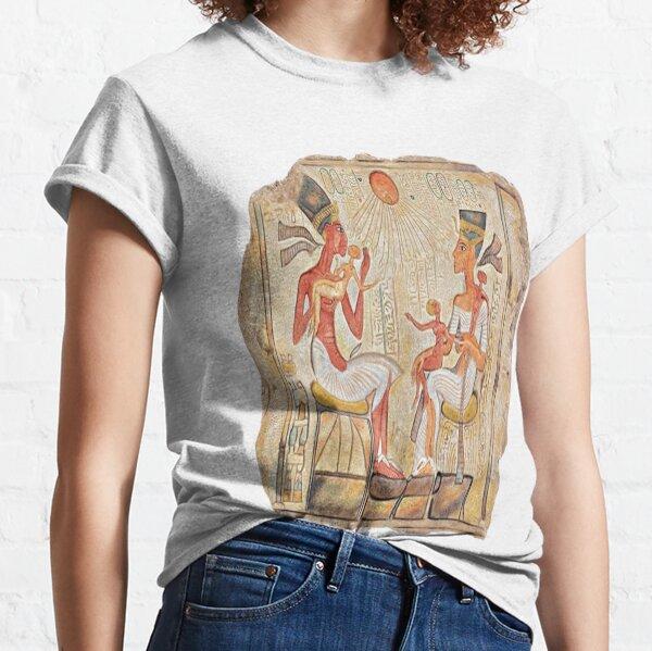 The Stela of Akhenaten and His Family  Classic T-Shirt