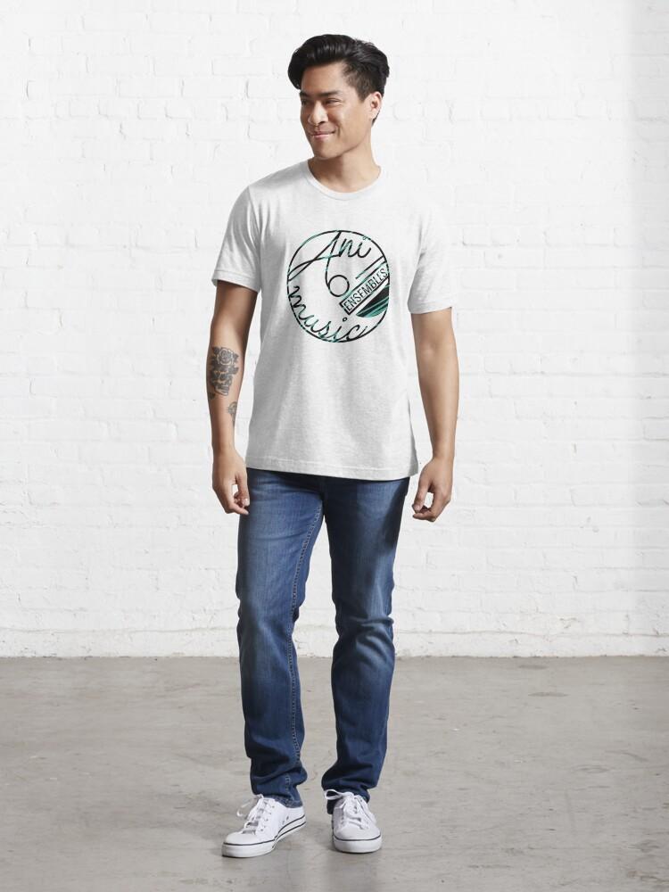 Alternate view of Animusic Logo on White Essential T-Shirt