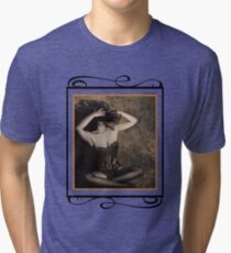 Sensuality in Sepia - Self Portrait Tri-blend T-Shirt