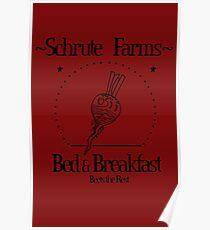 Schrute Farms B&B Poster