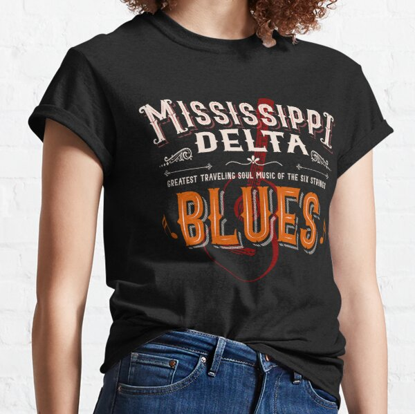 Mississippi Delta Blues Guitar Classic T-Shirt
