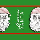 The American Santa - Santa George MUG by Dave-id