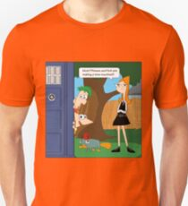 Phineas & Ferb Who Unisex T-Shirt