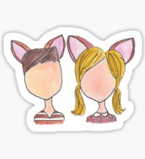 Bambi and Faline Sticker