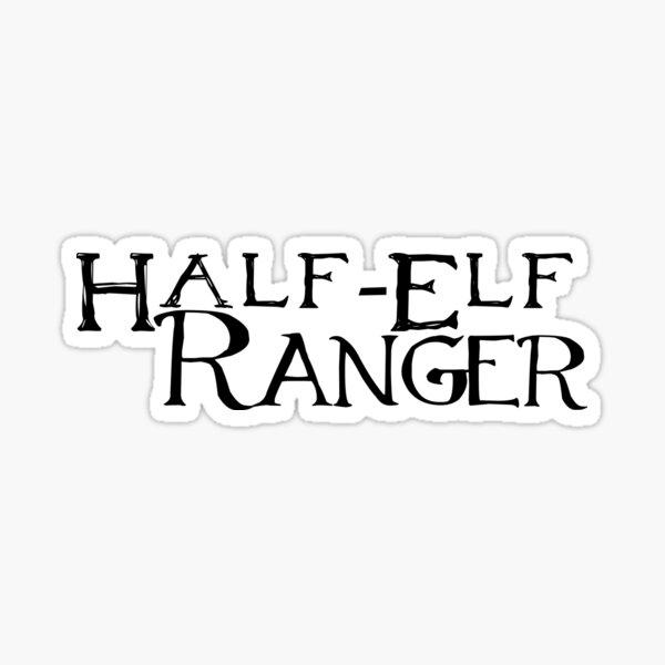 Half-Elf Ranger Sticker